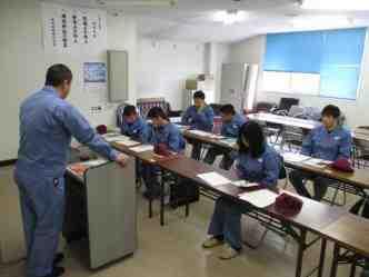 ベトナム技能実習生は日本で座学講習